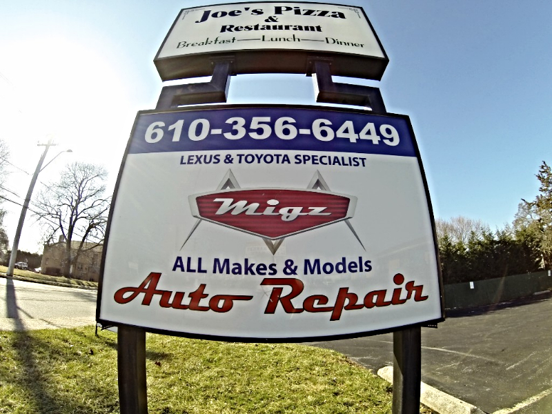 Call Migz today for all your vehicles needs!